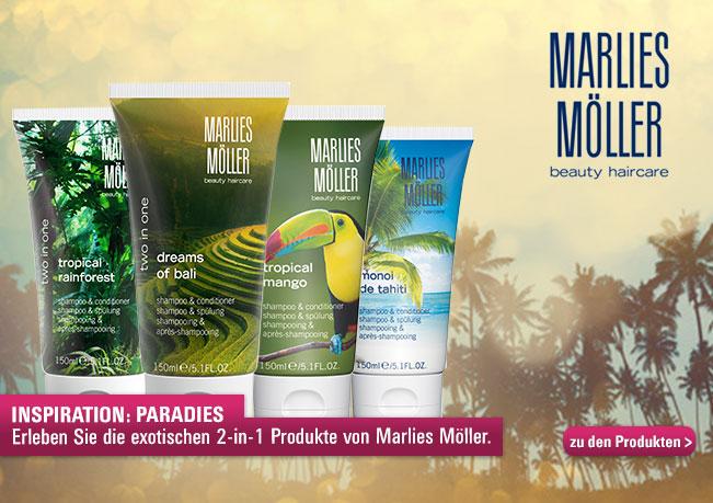 Paradies: Erleben Sie die exotischen -in- Produkte von MArlies Möller.