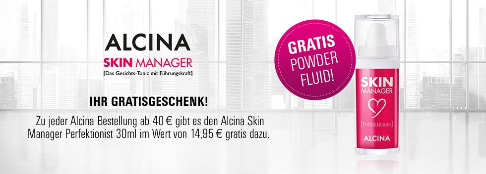 Alcina stellt schon seit 1946 pflegende Kosmetik für alle Haut- & Haartypen her.