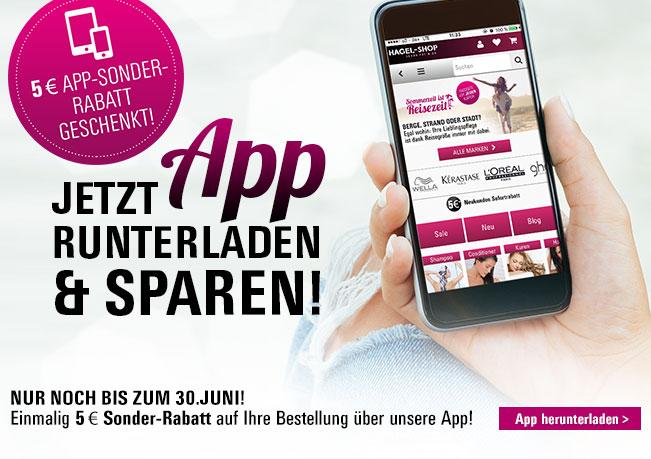 5€ App-Sonderrabatt: Erhalten Sie exklusiv 5€ Rabatt auf eine Bestellung über unsere Hagel App.