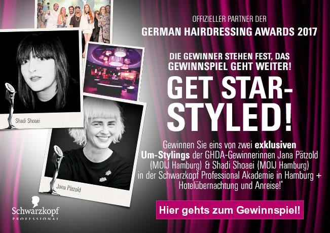 German Hairdressing Award: Gewinnen Sie ein Umstyling von den Award-Winnern 2017!