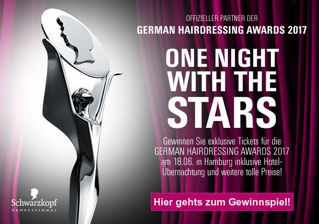 German Hairdressing Awards 2017: Gewinnen Sie exklusive Tickets für die GERMAN HARDRESSING AWARDS 2017!