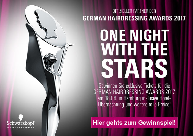 German Hairdressing Awards 2017: Gewinnen Sie exklusive Tickets für die GERMAN HARDRESSING AWARDS 2017!