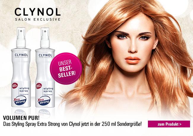 Clynol Styling Spray: Der Klassiker für extra starken Halt!