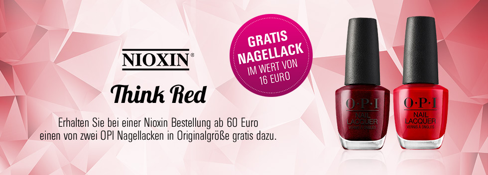Think Red Nioxin