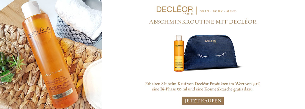 Decléor gratis Tasche & Cleanser