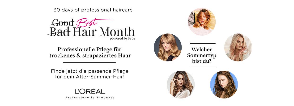 Best Hair Month