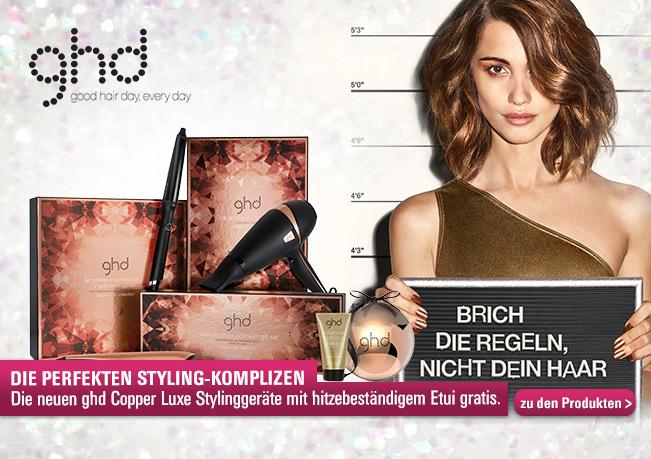 Die neue ghd Copper Luxe Serie für ein edles & perfektes Finish.