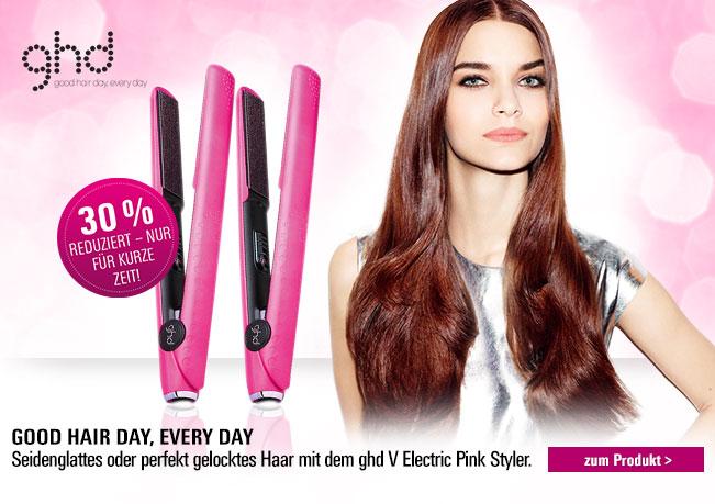 ghd Pink Styler