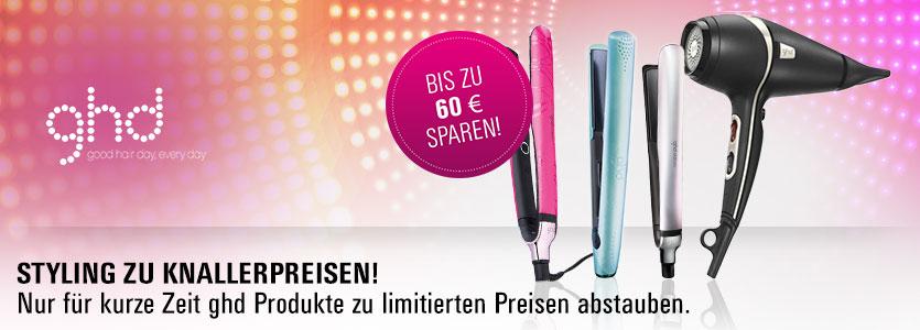 ghd Sale: Styling zu Knallerpreisen. Bis zu 60€ sparen.