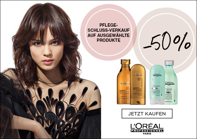 L'Oréal Professionnel Serie Expert 50% Rabatt auf ausgewählte Produkte