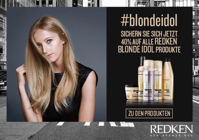 Redken - Sicher Sie sich jetzt 40% auf alle Redken Blond Idol Produkte