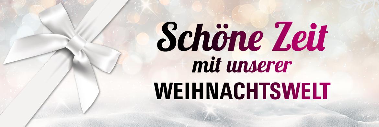 Geschenke: Die Weihnachtswelt bei HAGEL!
