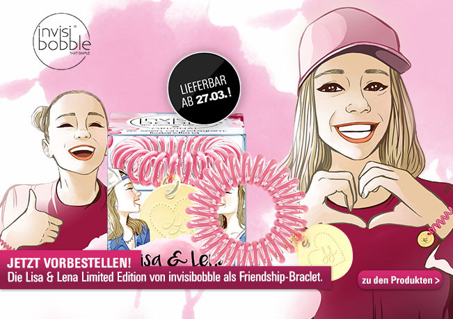 Gemeinsam durch dick & dünn: Mit der Lisa & Lena Special Edition von invisibobble.