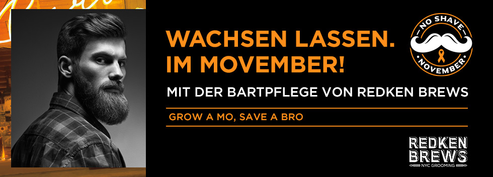Redken Brews Movember