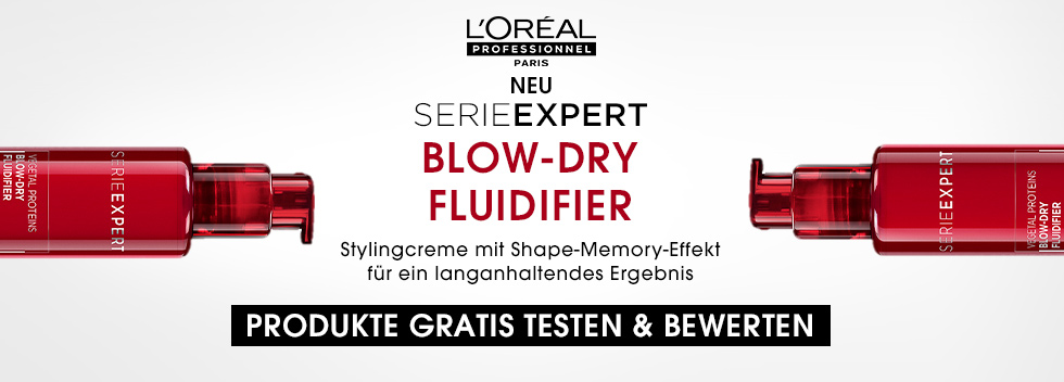 Loreal Blow Dry Produkttest