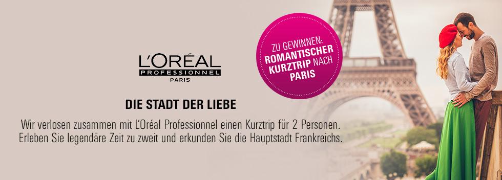 L'Oréal Gewinnspiel Paris