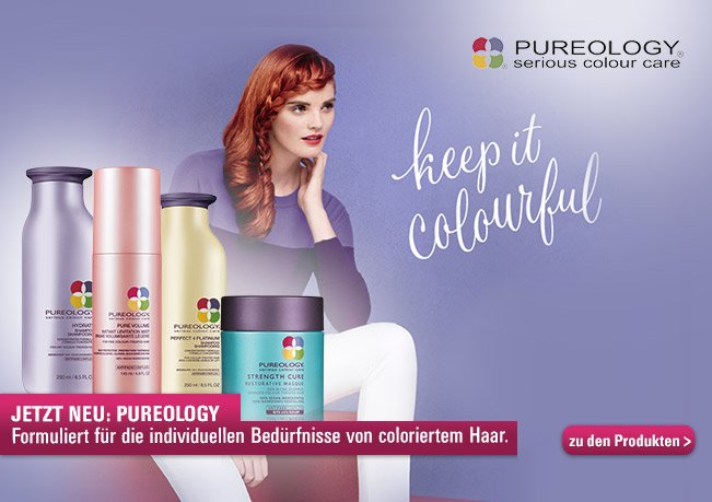 Pureology für individuelle Bedürfnisse von coloriertem Haar.