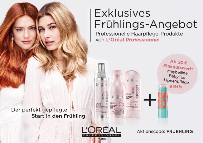 L'Oréal: Der perfekte Start in den Frühling. Erhalten Sie jetzt Gratis Babylips Lippenpflege!