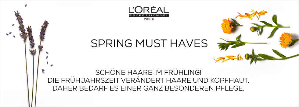 Loreal Spring Must Haves
