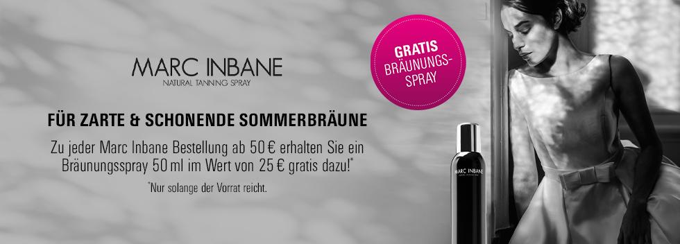 Marc Inbane gratis Bräunungsspray