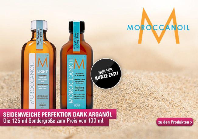 Moroccanoil ist der Sondergröße: Seidenweiche Perfektion Dank Arganöl.