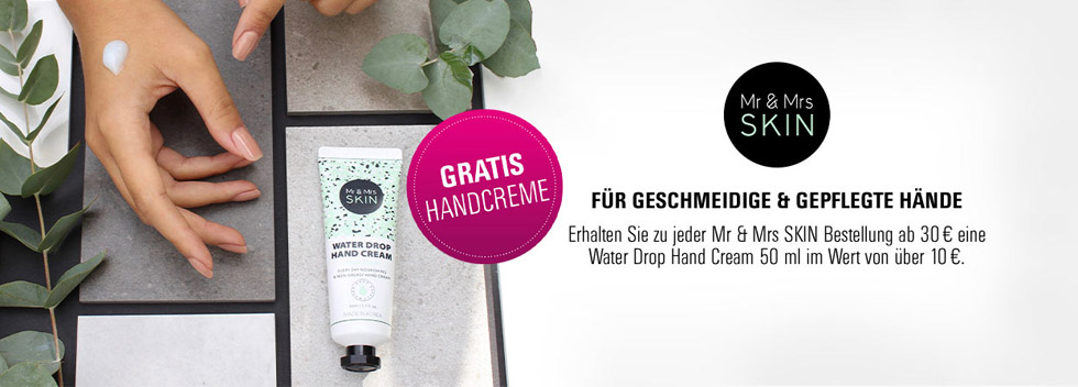 Mr & Mrs Skin gratis Handcreme