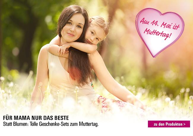 Muttertagswelt: Statt Blumen - Tolle Geschenke & Sets zum Muttertag!