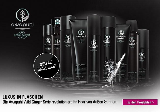 Luxus in Flaschen: Die Awapuhi Wild Ginger Serie revolutioniert Ihr Haar von Außen & Innen.