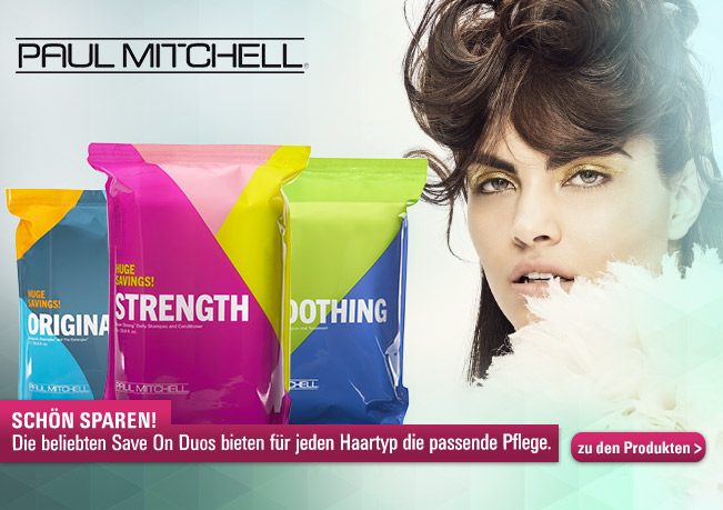 Super-Deal mit den Paul Mitchell Save on Duos Big