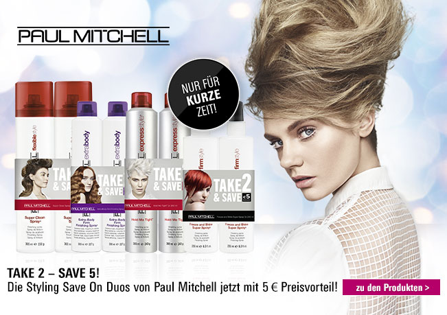 Paul Mitchell Styling Save On Duo 5 € Preisvorteil