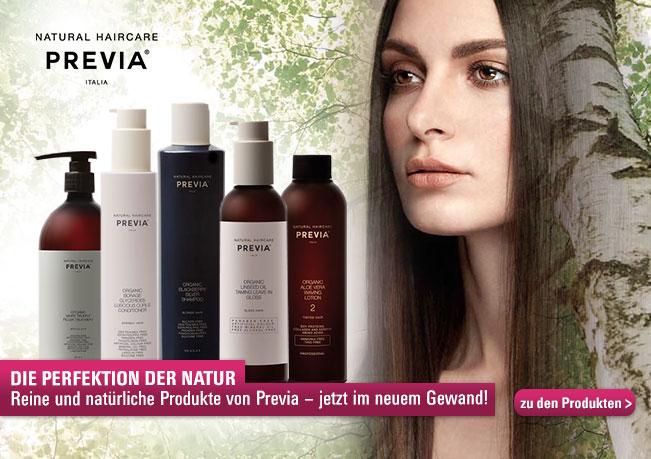 Die Perfektion der Natur: Reine und natürliche Produkte von Previa - jetzt im neuem Gewand!