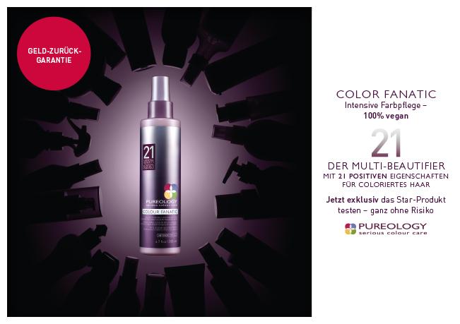 Pureology Colour Fanatic: Intensive Farbpflege - 100% vegan.