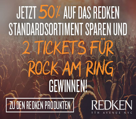 Redken 50% auf das Standardsortiment