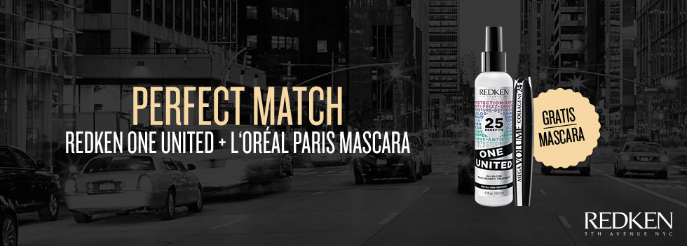 Redken One United gratis Mascara