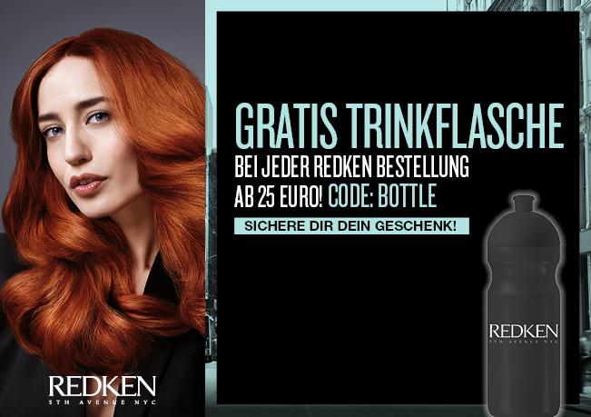 RedkenTrinkflasche: Gratis zu jeder Redkenbestellung ab 25 €.
