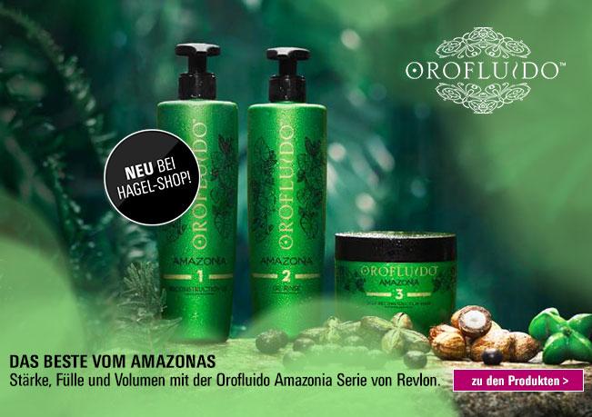 Stärke, Fülle und Volumen mit der Orofluido Amazonia Serie von Revlon