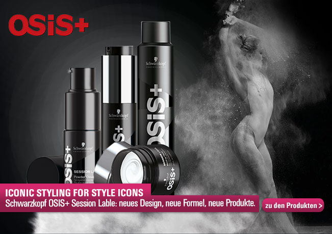 Schwarzkopf Osis+ Session Label: neues Design, neue Formel & neue Produkte.