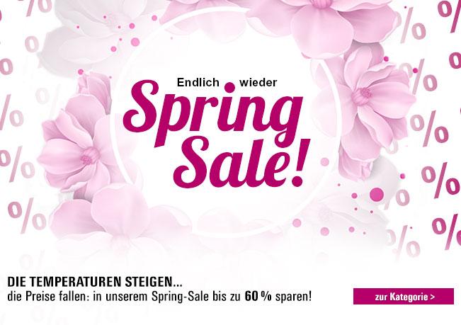 Spring Sale: Die Temperaturen steigen & die Preise fallen. Jetzt bis zu 60% sparen!
