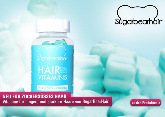 SugarBearHair - Die Vitamin Gummi-Bären für längeres & stärkeres Haar.
