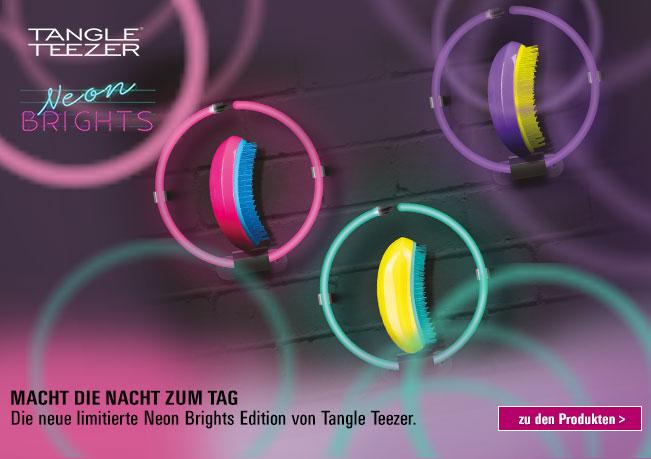 Tangle Teezer Neon macht die Nacht zum Tag!