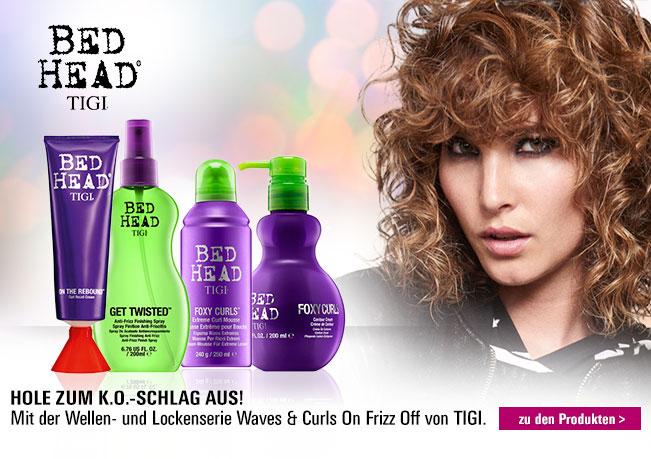 Tigi Waves & Curls On Frizz Off: Perfekt für lockiges Haar.