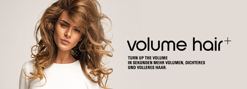 Volume Hair - Turn up the Volume