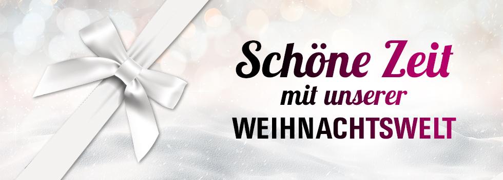 Weihnachtswelt Banner