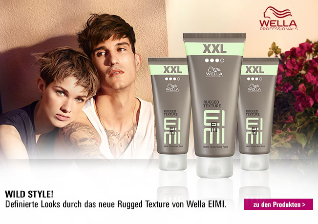 Wella EIMI Rugged Texture XXL: Mattierende Modellierpaste für starken Halt