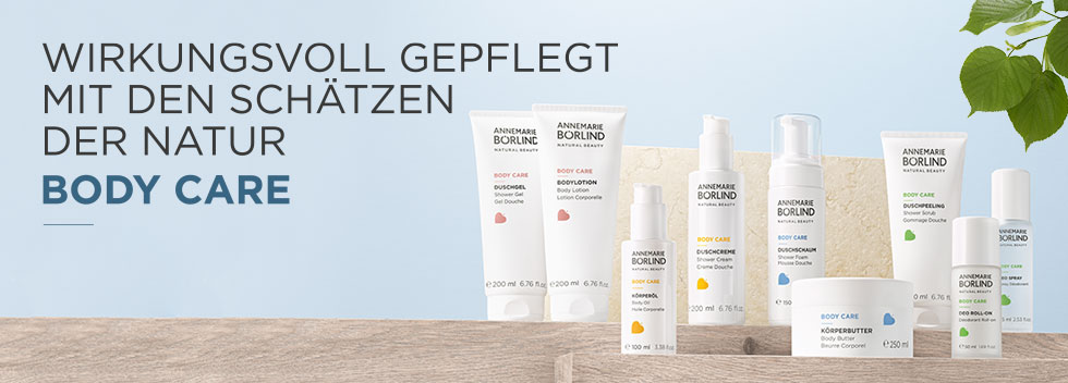 ANNEMARIE BÖRLIND BODY CARE