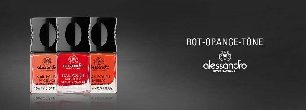 alessandro International Rot- & Orange-Töne
