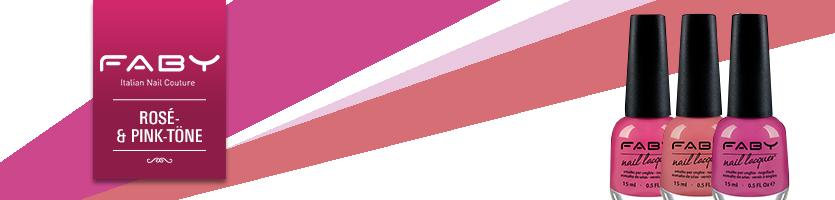 FABY Rosé- & Pink-Töne