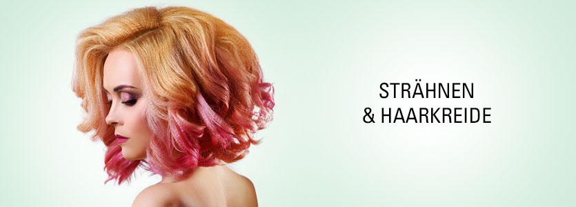Strähnen, Haarkreide & Make-Up