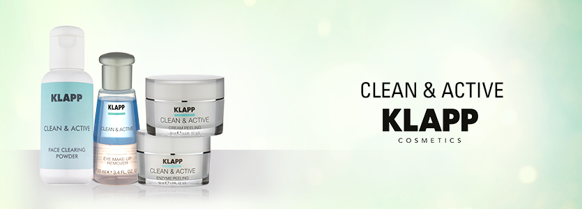 Klapp Cosmetics Clean & Active
