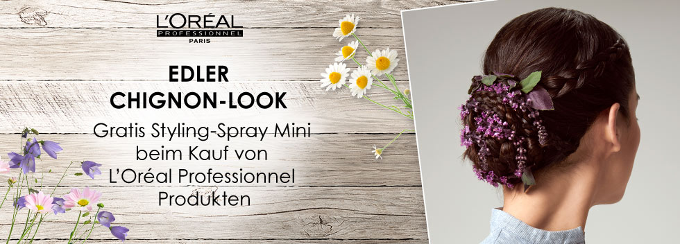 L'Oréal Edler Wiesn Look 2019